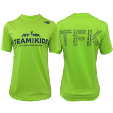 The TFK Men's Short Sleeve NB Tech Tee is made of a soft, sweat-wicking and odor resistant fabric. The athletic fit ensures the shirt stays out of your way so you can be free to train for your races at your optimum level of performance.