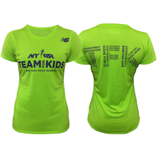 The TFK Women's Short Sleeve NB Tech Tee is made of a soft, sweat-wicking and odor resistant fabric. The athletic fit ensures the shirt stays out of your way so you can be free to train for your races at your optimum level of performance.